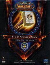 New Sealed Class Starter Deck Human Paladin Alliance World of Warcraft WoW TCG