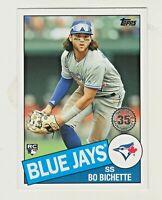 2020 Topps Update 1985 RETRO 35th ANNIVERSARY #85TB-45 BO BICHETTE RC Rookie