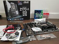 Asus Z170-A ATX M/B +Intel I5-6600K + 16Gb 2133 HyperX Ram Bundle