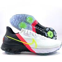 Nike Air Zoom Infinity Tour White Volt Black Golf Shoes CT0540-103 Men's 11.5