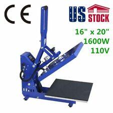 Us Stock 20 X 16 Auto Open Heat Press Machine 110v T Shirt Printer