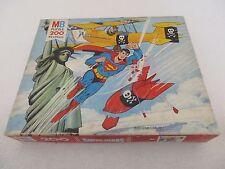 PUZZLE MB 200 - Série SUPER HÉROS SUPERMAN - Complet MB 1977