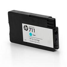 3 x HP 711 Cyan 29ml ink Cartridge CZ130A  Designjet T120 T520 inc VAT CZ134A