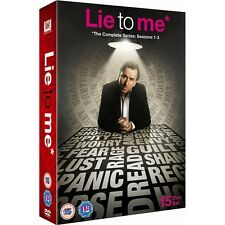 """LIE TO ME COMPLETE SERIES 1-3 COLLECTION 14 DISCS BOX SET R4 """"NEW&SEALED"""""""