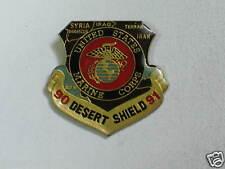 Marine Corp  Desert Sheild Pin , Vintage 1990-1991 , (130)(**)