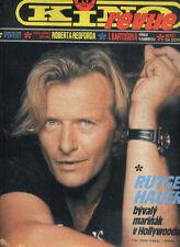 RUTGER HAUER ROSANNA ARQUETTE WHITNEY HOUSTON Magazine