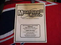 MEGATOUCH 3        owners manual