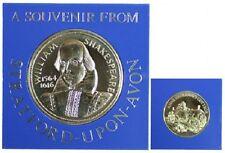 William Shakespeare Medallion