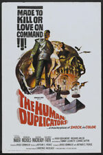 The human duplicator George Nader horror movie poster