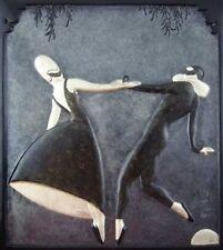 """Erte    (Romain De Tirtoff)    """"Pas De Deux Bas Relief""""   Book   MAKE OFFER"""