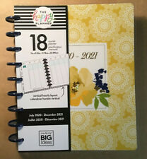 "NEW 2020-2021 me & my BIG Ideas The Happy Planner ""PRETTY PREPPY"" Classic Plannr"