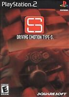 Driving Emotion Type-S (Sony PlayStation 2, 2001) DISC IS MINT