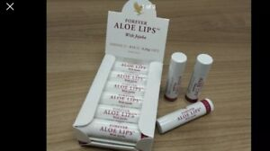 Forever Living Lips Aloe Vera Lip Balm Sticks With Jojoba 5 Sticks