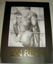 Jon Reich Art Gallery   Transparancy III  poster  Male  nude  24  x 32   b & w