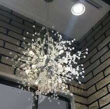 Modern Bead Dandelion LED Chandelier Fireworks Pendant Lamp Ceiling Light Meteor