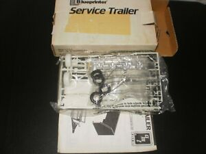 BLUEPRINTER SERVICE TRAILER ERTL 1991 BRAND NEW