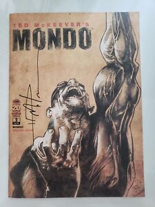 TED McKEEVER'S MONDO #2 (2012) IMAGE COMICS! 1ST PRINT! SIGNED by McKEEVER