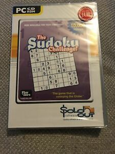 The Sudoku Challenge - Pc Game - New And Sealed
