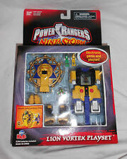 POWER RANGERS NINJA STORM: LION VORTEX PLAYSET 2003 SEALED