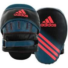 Adidas Womens Speed Focus Mitts Punch Pads Black Red
