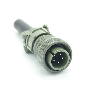 5 pin Male Plug Conector fit Miller Syncrowave 300 500 Welder Parts