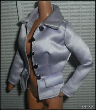 JACKET BARBIE DOLL PERFECTLY SUITED LAVENDER SATINY SUIT JACKET TOP  ACCESSORY