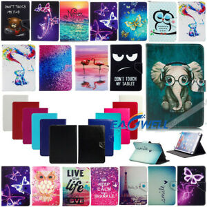 """US For Samsung Galaxy Tab A E S2 S3 S4 7""""~10.5"""" Tablet Universal Flip Case Cover"""