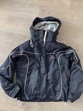 SOS Black Ladies Ski Jacket Size 38 / 12