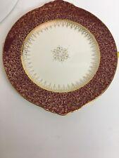 VINTAGE Treasure O Gold 22K Gold British Empire Ware Dinner Plate