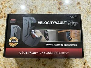Cannon Vault Safe VelocityVault VV500 Gun Safe 1 Second Access To Your Weapon