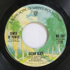 Soul 45 Tower Of Power - Clean Slate / So Very Hard To Go On Warner Bros.