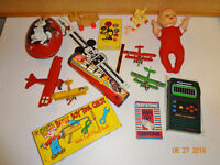 Assorted Bundle Lot of Old Vintage Toys