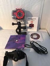 Spiderman Orange/Blue 4x HD 720P Digital Action Camcorder