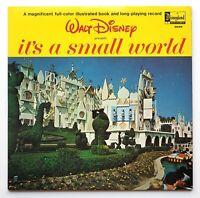 Walt Disney presents It's a Small World rainbow labels booklet LP ST-3925 EX