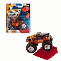 Mattel Hot Wheels Monster Jam Truck Captain's Curse Die-Cast Car w/ Stunt Ramp
