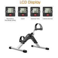 LCD Fitniss fahrrad Heimtrainer Fitnessgerät Mini Bike Trimmrad Pedaltrainer