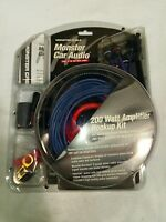 MONSTER CAR AUDIO | 200 WATT AMPLIFIER COMPLETE HOOKUP KIT | FREE SHIPPING | NEW