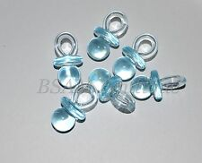 Blue Large Acrylic Dummies x 6- Baby Showers, Party Favors, Table Scatters