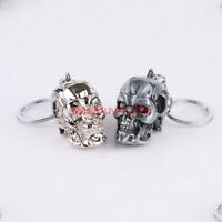 Cool Motorcycle Bicycle Skull Terminator Car Key Chain Individuality Creative