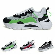 39-44 Mens Sports Breathable Running Jogging Outdoor Shoes Casual Sneaker Soft B