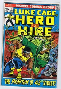 LUKE CAGE HERO FOR HIRE 4 4.0 4.5 FF