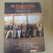 Unanimità ST. Elmo'S Fire Uomo in movimento, John Parr 1985