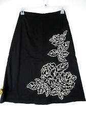 A-Line Dry-clean Only Floral Regular Size Skirts for Women