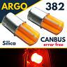 382 Cob led Smd Red 1156 Ba15s P21w 5w Car Fog Brake Stop Tail Light Bulbs 12v