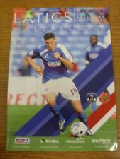 11/10/2014 Oldham Athletic v Walsall  . Thanks for viewing this item available f