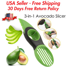 🔥 Avocado Fruit Specialty Slicer Cutter Knife 3 in 1 Kitchen Tool USA Seller 🔥