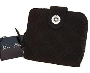 Vera Bradley Mini Zip Wallet in Vera Vera Espresso