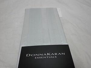 New Donna Karan Essentials City Stripe Silk Standard/Queen Sham - Opal  NIP