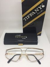 Vintage Tiffany Lunettes T51 Eyeglasses T/51 C.  23k Gold Plated Life By Tiffany