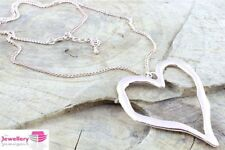 Unbranded Heart Alloy Costume Necklaces & Pendants